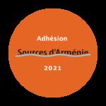 Adhésion Sources d'Arménie 2021